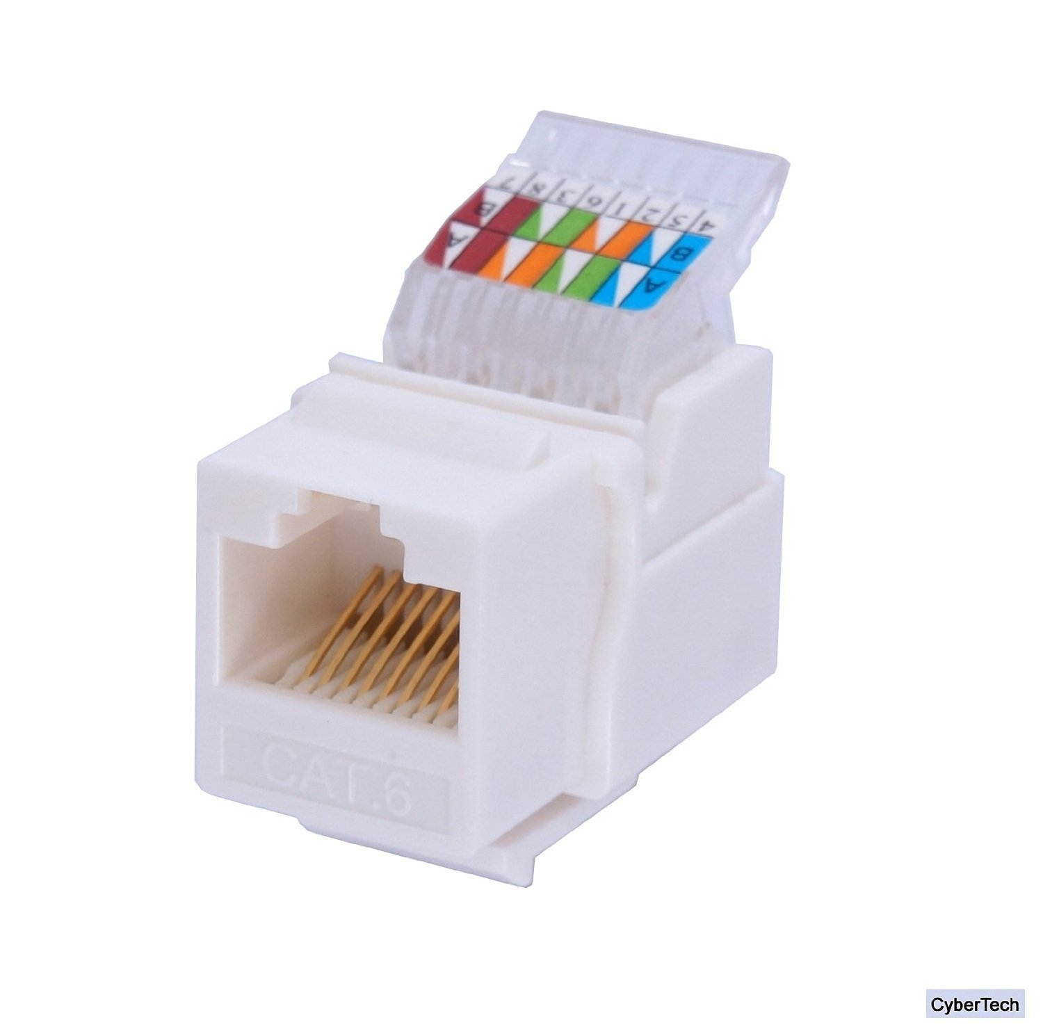hight resolution of get quotations idc rj45 cat6 cat5e tool less gold plated keystone modular jack for 10