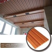 Interior Wood Plastic Wall Panel,Decorative Material Wall
