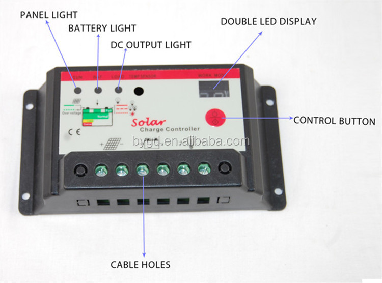 12v Solar Charge Controller Wiring Diagram 12v Get Free Image About
