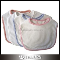 Wholesale Cheap Striped Brim Blank Baby Bibs - Buy Baby ...