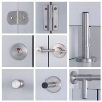 Toilet Sliding Door Handle With Lock - Buy Toilet ...