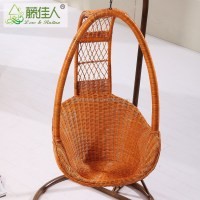 2016 New Design Rattan Wicker Hanging Cane Swing Chair For