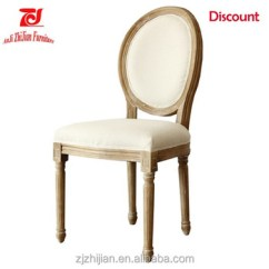 French Louis Chair Good Posture Lounge Xiv Dining Chairs Oval Back Wedding Zj S06