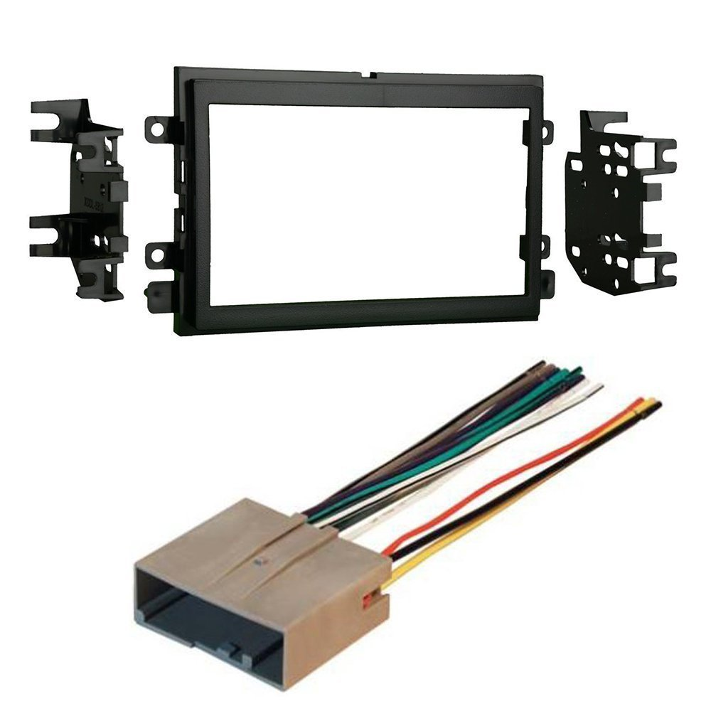 medium resolution of ford 2009 2013 econoline car cd stereo receiver dash install mounting kit wire harness