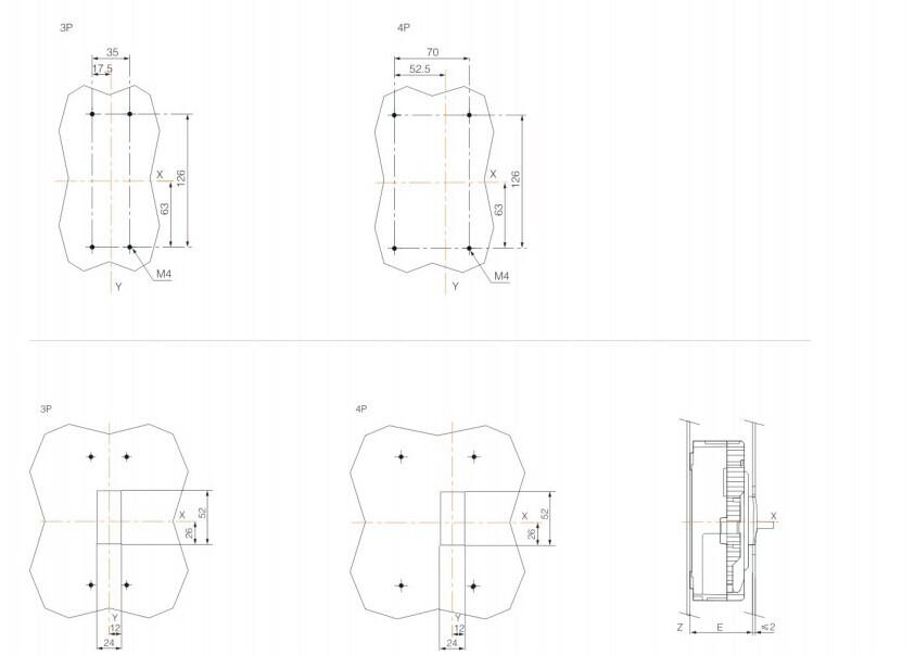 Moulded Case Circuit Breaker Ezc 100a 3p,Professional