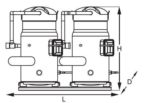 Maneurop Compressor Models,Electric Dc Scroll Compressor