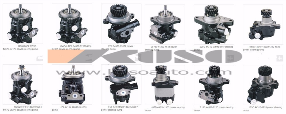 Power Steering Pump For Hino 500 J05c High Quality 44310