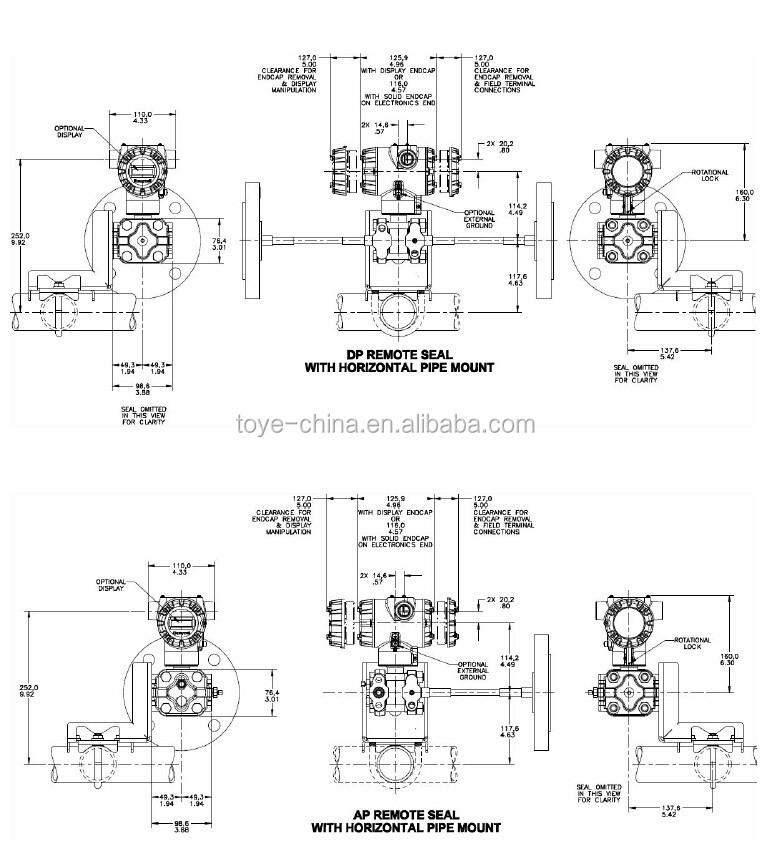 honeywell pressure transmitter wiring diagram audi a4 radio st 700 remote seal buy