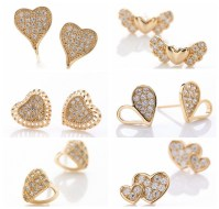Gold Earrings Designs For Girls | www.pixshark.com ...