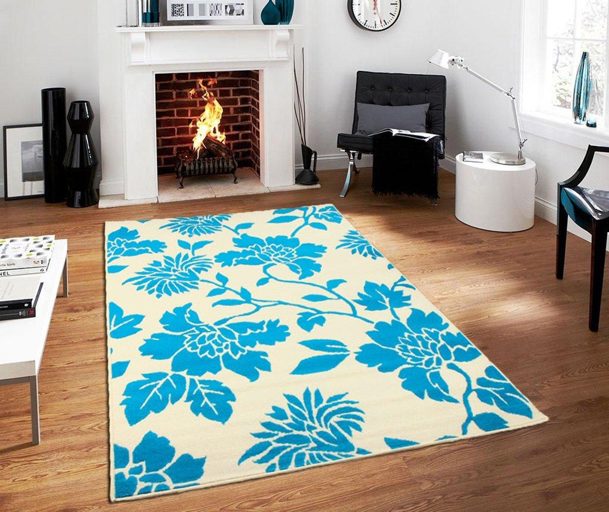 2x3 kitchen rug contemporary lighting cheap rugs find deals on line at get quotations new area modern flowers bathroom door mats indoor outdoor blue