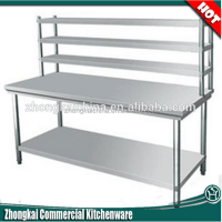 Classics Commercial Kitchen Stainless Steel Top Worktable ...