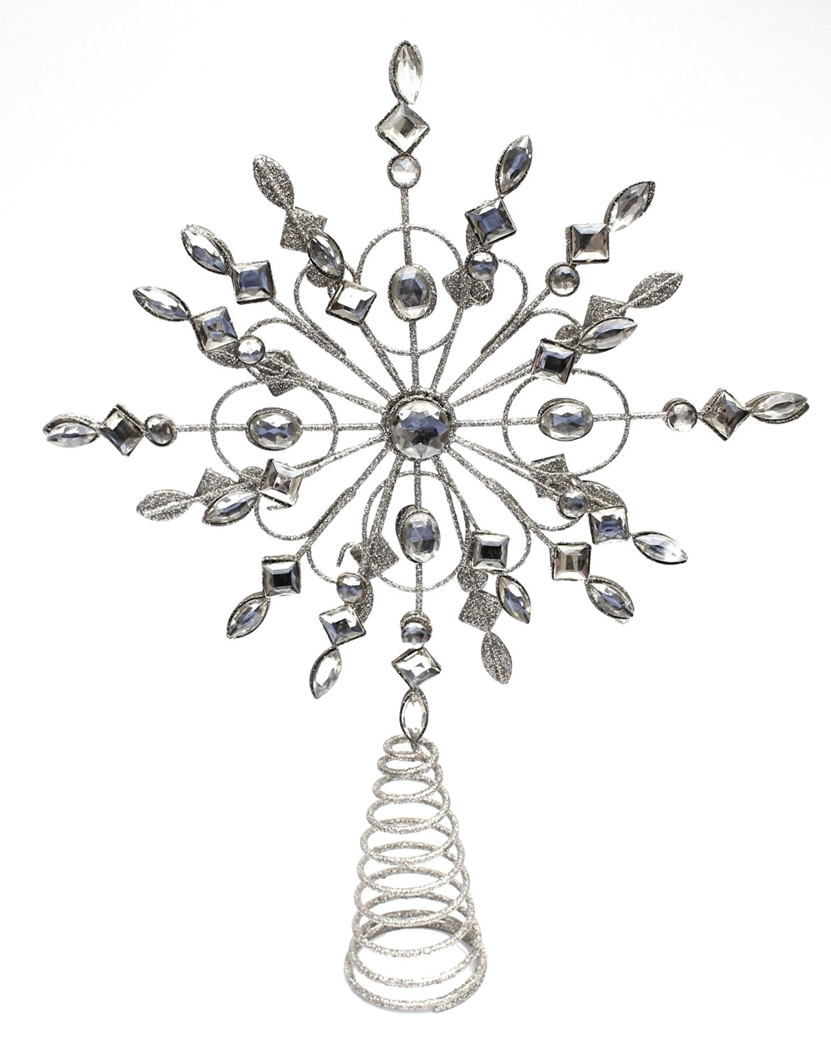 Buy Holiday Lane Wire Burst Silver With Gold Accents 14