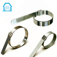 Galvanised Steel Band It Preformed Hose Clamps