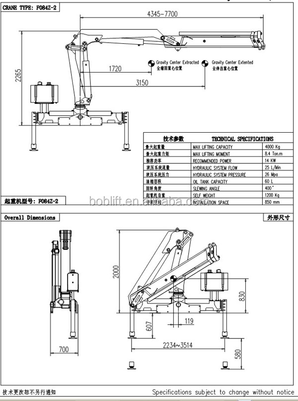 China Machine 4ton Truck Mounted Earth Auger For Sale