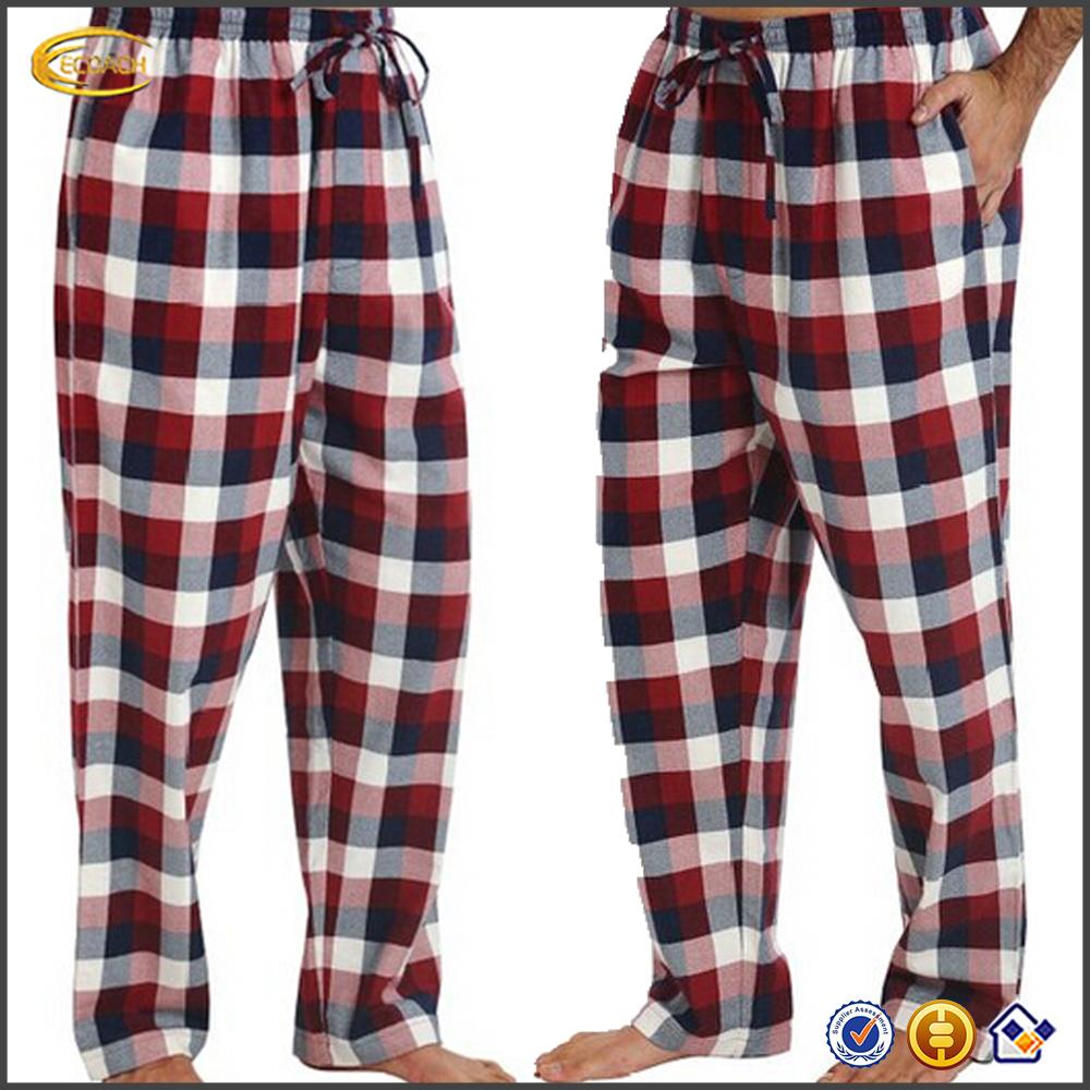 pijamas de franela para hombre