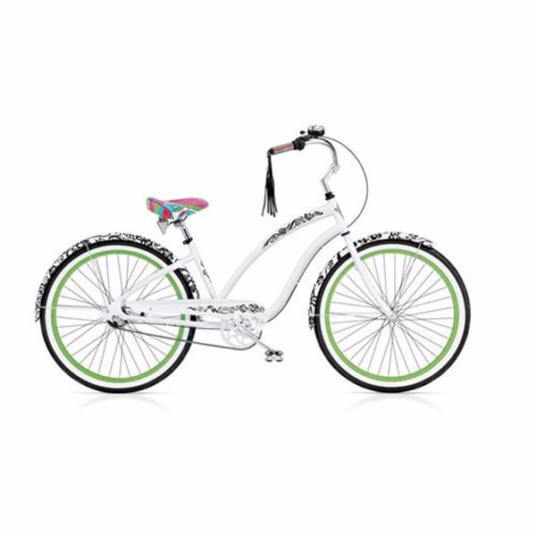 Colorful Beach Cruiser Bicycle 26