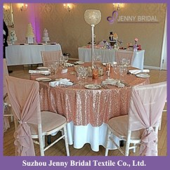 Chair Covers Rose Gold Hanging Bracket Sqn 24 Indian Polyester Sequin Table Cloth Dubai Buy