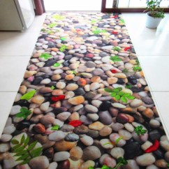 Custom Kitchen Rugs Aid 5 Qt Mixer Unikea 3d Carpet Cobblestone And Carpets For Home Living Room Area Rug Skidproof
