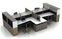Space Saving Office Furniture Desk Modern Circular ...