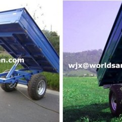 Semi Trailers For Sale In Germany Sonic Electronix Subwoofer Wiring Diagram Galvanized Garden Tools Atv Dump Trailer,single Axle 4t Box Tipper Trailer Farm Tractor ...