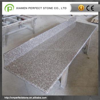 bord plat g664 granit pour comptoir de cuisine dessus de vanite