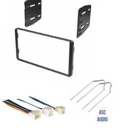 get quotations asc car stereo radio install dash kit wire harness and radio tool to install [ 1200 x 1473 Pixel ]