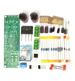 get quotations diy kit for gainclone 3875 lm3875 50w 50w 8ohm amp board speaker protection sc [ 1000 x 1000 Pixel ]