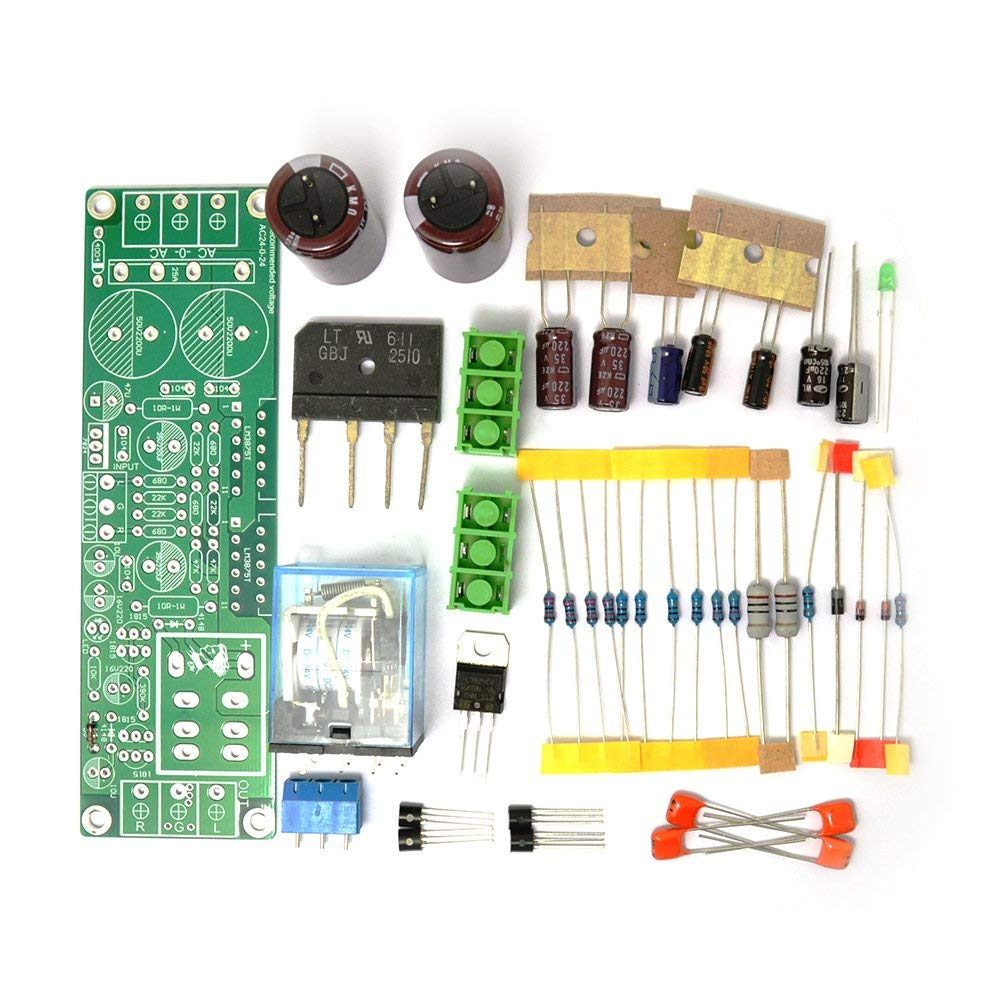hight resolution of get quotations diy kit for gainclone 3875 lm3875 50w 50w 8ohm amp board speaker protection sc