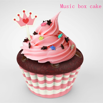 Mini Cake Musical Box Educational And Musical Toy Eco Friendly Music