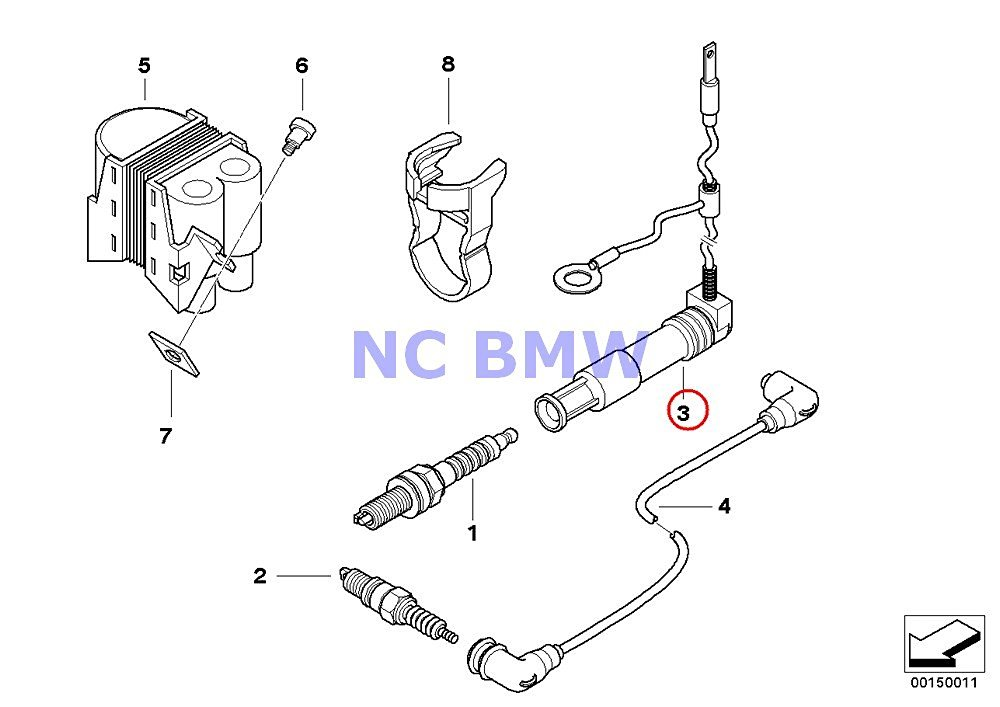 Buy BMW Genuine Motorcycle Engine Electrical System