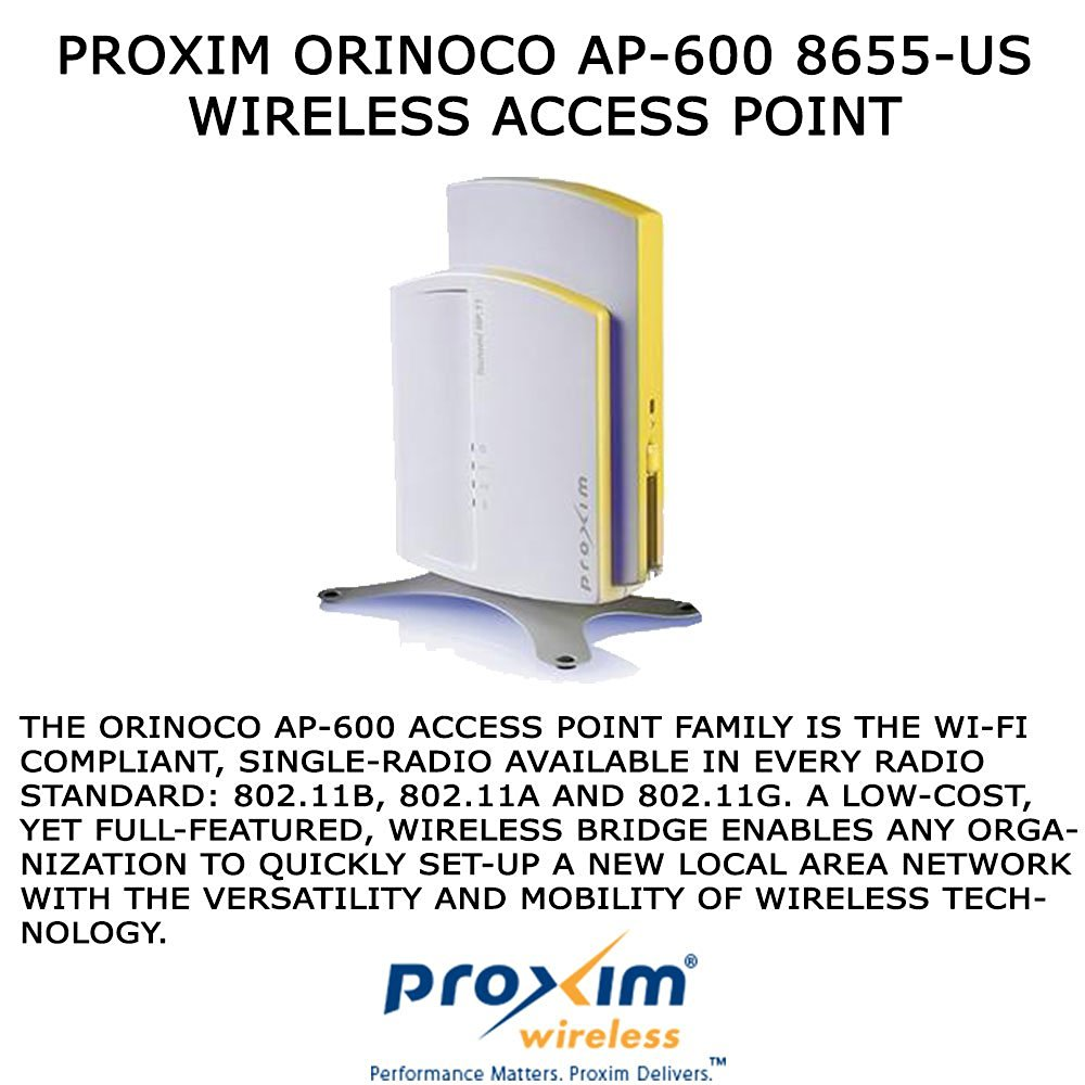 hight resolution of get quotations proxim 8655 us wireless access point with antenna connector