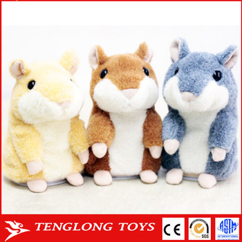 Hot Sale High Quality Plush X Hamster Animals Gifts With Recorder For Kids