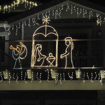 Outdoor Religious Christmas Decorations
