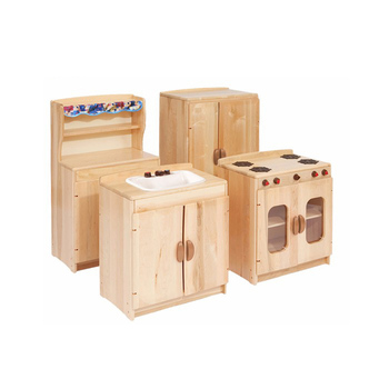 wooden toy kitchen cabinet materials hot sale mother garden toys kids role play set