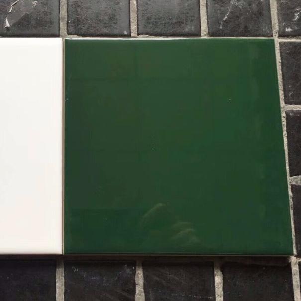 carrelage mural d interieur brillant de couleur vert fonce 10x10 haut de gamme buy carrelage mural en ceramique carrelage brillant vert fonce