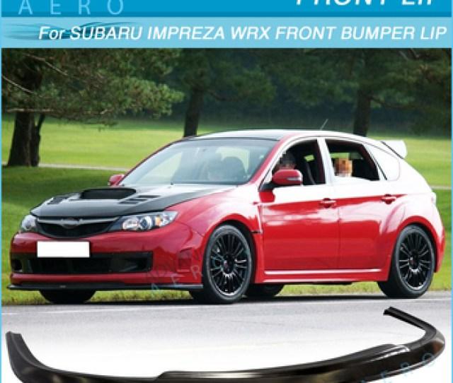 For Subaru Impreza Wrx Sti Charge Speed Poly Urethane Front Lip Spoiler Diffuser 08 10