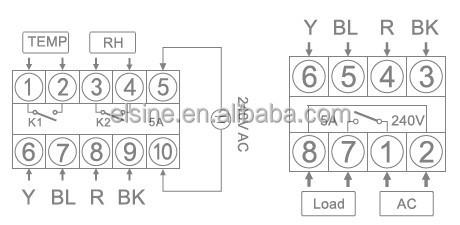 Temperature & Humidity Controller/sensors (TDK0348LA,THC