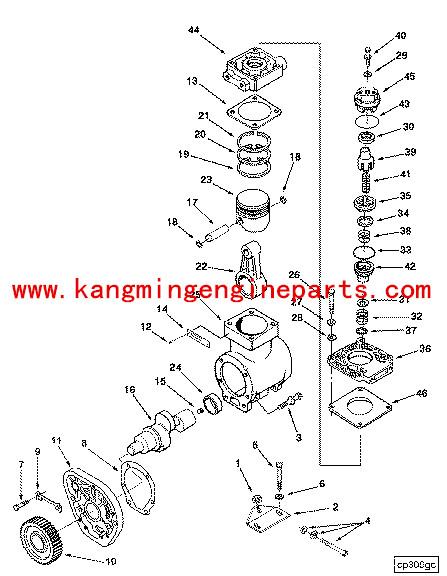 Ccec 3018151 Rod Compressor Connecting Nta855 Auto Spares