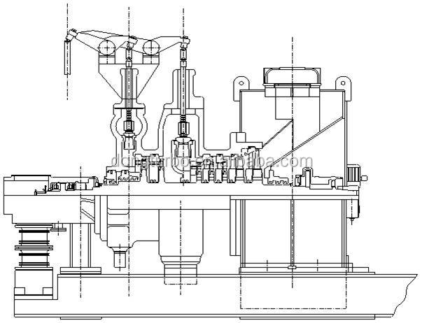 Dtec 200mw Steam Turbine Generator Thermal Power Plant