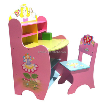 study table and chair for kids fishing camping desk children cubby house wooden buy