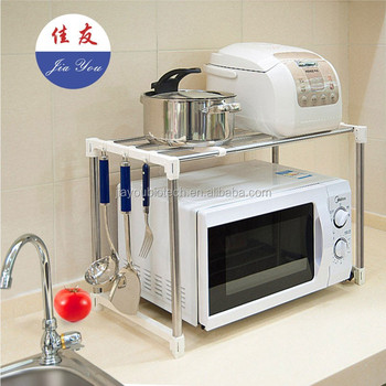 kitchen utensil rack sink waste disposal jyxf stainless steel microwave stand jyc 021