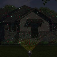 Laser Christmas Star Lights Outdoor Shower Laser Light