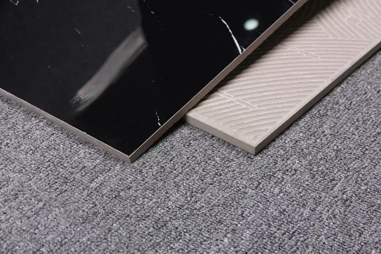 2x2 6x6 12x12 cheap shiny black with white texture ceramic tile high gloss glazed bathroom black ceramic tile buy bathroom ceramic tile shiny