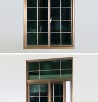 Rogenilan 76 Series Popular Aluminium Windows In China