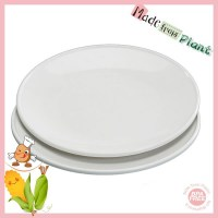 Cheap Bulk Microwavable Dinner Hard Bio-plastic Plates ...