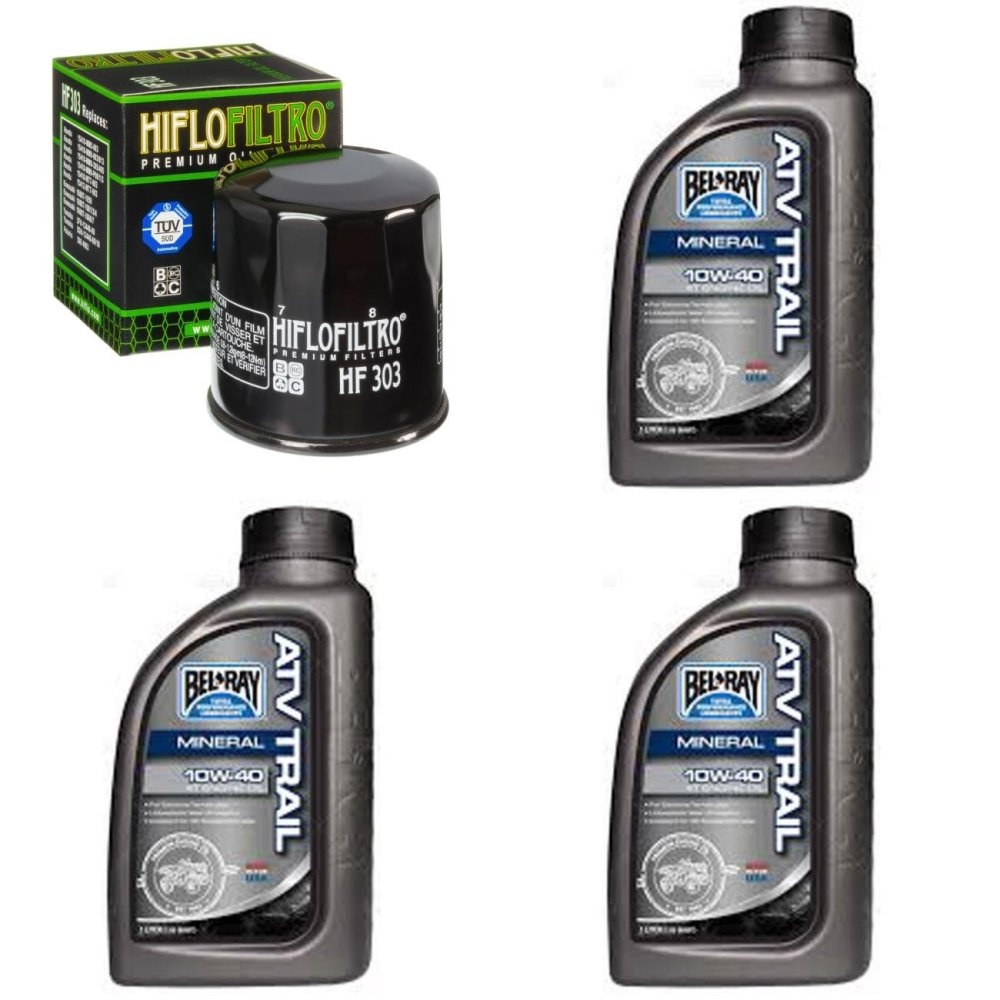medium resolution of get quotations complete mineral engine oil 10w 40 change kit for atv yamaha yfm450 wolverine 4x4 06
