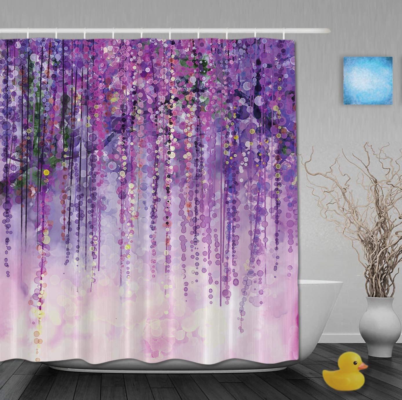 Cheap Purple Fabric Shower Curtains Find Purple Fabric