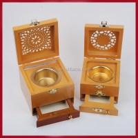 Wood Brass Incense Burner India - Buy Brass Incense Burner ...