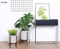 Indoor Planters Concrete Planter Pot With Modern Plant ...