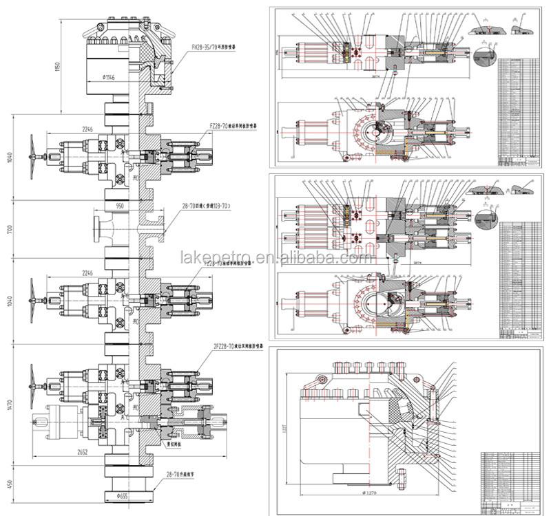 double door parts diagram citroen berlingo wiring high quality api 16a blowout preventer,cameron ram bop,annular preventor (good ...